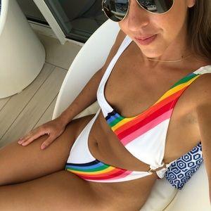 Milly Swim - Milly rainbow one-piece!